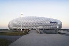 安联球场体育场在慕尼黑 免版税库存图片