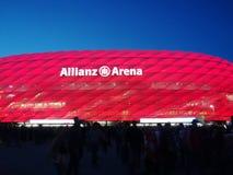 安联球场在慕尼黑 免版税库存图片