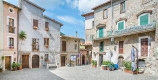 安蒂科利科拉多, comune自治市在罗马,拉齐奥,意大利广域市  免版税图库摄影