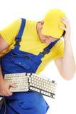 安装工 免版税库存图片