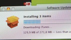 安装更新苹果计算机iMac计算机 影视素材