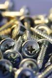 安装螺钉 免版税图库摄影