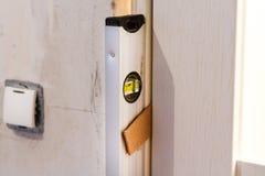 安装门 免版税库存图片