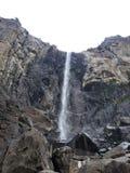 安赫尔瀑布,优胜美地国家公园 免版税库存照片