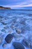 安赫莱斯los海边 库存照片