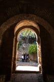 从安达卢西亚人西班牙的阿拉伯纪念碑 免版税库存图片