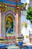安达卢西亚的喷泉 免版税图库摄影