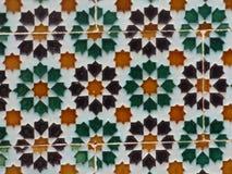 安达卢西亚的墙壁瓦片 库存图片
