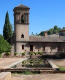 安达卢西亚的宫殿 图库摄影