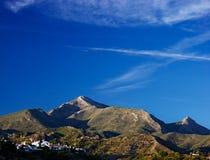 安达卢西亚的小山 库存照片