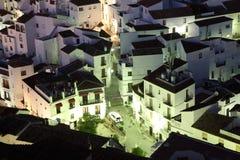 安达卢西亚的村庄Casares 库存图片