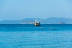 安达曼海海岸  库存图片