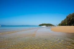 安达曼海海岸  免版税库存图片