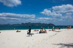 安达曼海海岸  免版税库存照片