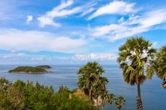 安达曼海的海岸 库存照片
