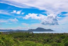 安达曼海的海岸 免版税库存图片