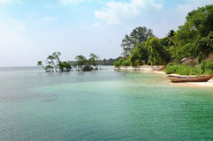 安达曼海滩 免版税库存照片