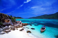 安达曼群岛天堂海运泰国 库存照片