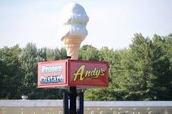 安迪` s冷冻蛋糕, Jonesboro,阿肯色 免版税库存照片