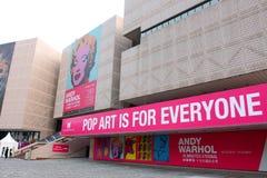安迪Warhol陈列在香港 免版税库存照片