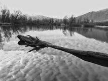 安静和相当 Magadino,提契诺州 瑞士 库存照片