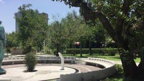 安静和beautful公园 影视素材