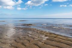 安静在波罗的海 免版税库存图片