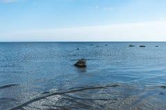 安静在波罗的海 免版税库存照片