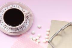 安静的咖啡 库存图片