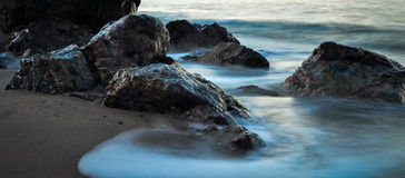 安静的岩石 库存照片