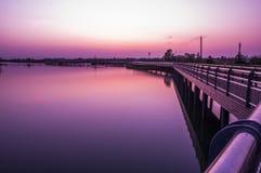 安静的港口 库存照片