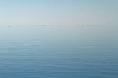 安静的湖 库存照片