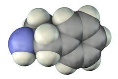 安非他明分子,中央神经系统一种强有力的兴奋剂  库存例证