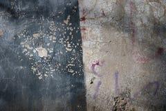 安非他命药片被绘的墙壁 图库摄影