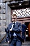 安非他命药片ENGELBRICHT_DANISH部长冷杉税和REVUNE 免版税库存照片
