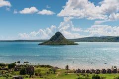 安齐拉纳纳海湾地亚哥苏亚雷斯Le Pain de苏克雷sugarloaf, 库存图片