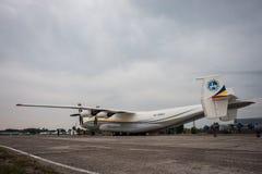 An-22安贞 免版税库存照片