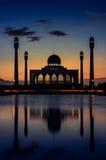 宋卡中央清真寺  免版税库存图片