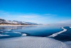 完全地被生成的冰是 免版税库存照片