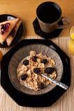 完全平衡的早餐 免版税库存图片