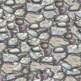 完全无缝的纹理石头00363 库存照片