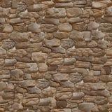 完全无缝的纹理石头 免版税库存图片