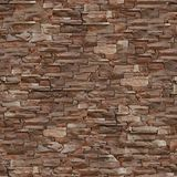 完全无缝的纹理石头 免版税库存照片