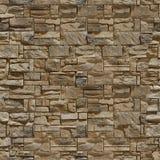 完全无缝的纹理石头 免版税图库摄影
