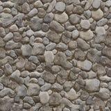 完全无缝的纹理石头 库存照片