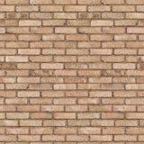 完全无缝的纹理砖00065 库存照片