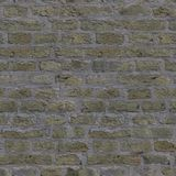 完全无缝的纹理砖00100 免版税库存照片