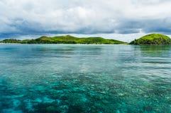 完全清楚太平洋 免版税库存照片