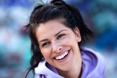 完善微笑 免版税库存图片