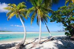 完善热带海滩 库存图片